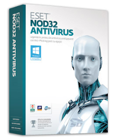 نسخه خانگی لایسنس آنتی ویروس Eset 3 years - ESET NOD32 Antivirus	License, Home Edition, 3YR