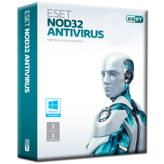 نسخه خانگی لایسنس آنتی ویروس Eset 1 years - ESET NOD32 Antivirus License, Home Edition, 1 YR